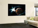 A Planet Harvested Off it's Resources and Left for Dead on it's Own Posters by  Stocktrek Images