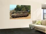 The Merkava Mark IV Main Battle Tank of the Israel Defense Force Poster by  Stocktrek Images