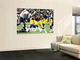 Texans Rams Football: , MO - Steven Jackson Art by Tom Gannam