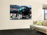 Jaguars 49ers Football: San Francisco, CA - A Jacksonville Jaguars Helmet Print by Tony Avelar