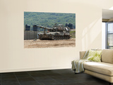 An M109 Self-Propelled Howitzer of the Israel Defense Forces Prints by  Stocktrek Images