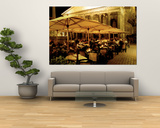 Cafe, Pantheon, Rome Italy Print