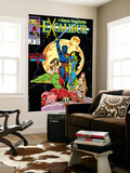 Excalibur 16 Cover: Nightcrawler, Phoenix, Shadowcat and Kymri Posters by Alan Davis