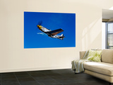 A P-51D Mustang Kimberly Kaye in Flight Prints by  Stocktrek Images