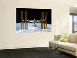 The International Space Station in Orbit Above Earth Posters by  Stocktrek Images