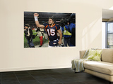 Denver Broncos and Pittsburgh Steelers: Tim Tebow Prints by Chris Schneider