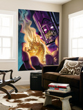 Stormbreaker: Beta Ray Bill No.4 Cover: Galactus and Stardust Poster by Andrea Di Vito