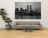 Brooklyn Bridge, Manhattan, New York City, New York State, USA - Reprodüksiyon