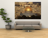 Dome of the Rock, Jerusalem, Israel Poster by Yvette Cardozo