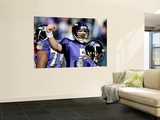 Baltimore Raven and Houston Texans: Joe Flacco Print by Nick Wass