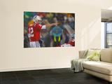 Titans Patriots Football: Foxborough, MA - Tom Brady Poster av Stephan Savoia
