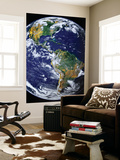 Full Earth Showing the Americas Plakat