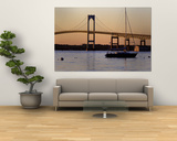 Bridge, Newport, Rhode Island, USA Poster