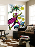 X-Men No.50 Group: Mesmero, Angel, Cyclops, Iceman, Beast, X-Men and Marvel Girl Prints by Jim Steranko