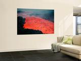 Lava Flow During Eruption of Mount Etna Volcano, Sicily, Italy Posters af Stocktrek Images,