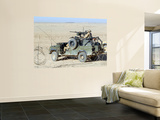Gurkhas Patrol Afghanistan in a Land Rover Prints by  Stocktrek Images