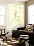 Philippines Map 1905 Prints