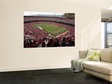 Falcons 49ers Football: San Francisco, CA - Candlestick Park Plakater av George Nikitin