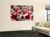 Chiefs Redskins Football: Landover, MD - Matt Cassel and Jamaal Charles Posters by Alex Brandon