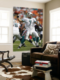 Texans Dolphins Football: Miami, FL - Chad Henne Poster by Wilfredo Lee