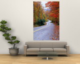 Hollywood Rd at Route 28, Adirondack Mountains, NY Print by Jim Schwabel