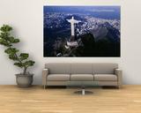 Aerial, Rio De Janeiro, Brazil Affiches