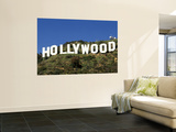 Hollywood Sign at Hollywood Hills, Los Angeles, California, USA Art