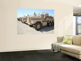 Cougar Hev Mine Resistant Ambush Protected Vehicles Prints by  Stocktrek Images