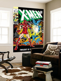 X-Men 52 Cover: Erik The Red and X-Men Posters by Werner Roth