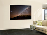 The Milky Way Rising Above the Hills of Azul, Argentina Posters af Stocktrek Images,