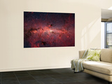 The Center of the Milky Way Galaxy Plakat