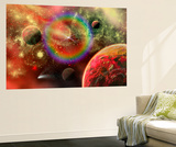Artist's Concept Illustrating the Cosmic Beauty of the Universe Print by  Stocktrek Images