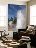 Grand Geyser Erupting, Upper Geyser Basin Geothermal Area, Yellowstone National Park Posters by  Stocktrek Images