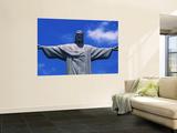 Christ the Redeemer Statue, Corcovado, Rio de Janeiro, Brazil Print