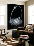 Three Newly-Discovered Streams Arcing High over the Milky Way Galaxy Posters