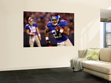 Cardinals Giants Football: East Rutherford, NJ - Brandon Jacobs Posters by Tim Larsen