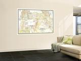 National Geographic Maps - 1946 Bible Lands, and the Cradle of Western Civilization Map Umělecké plakáty