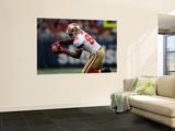 49ers Rams Football: St. Louis, MO - Vernon Davis Prints by Jeff Roberson
