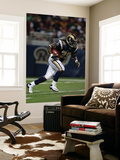 Packers Rams Football: St. Louis, MO - Steven Jackson Posters av Jeff Roberson