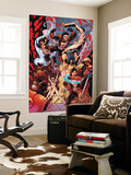 New X-Men 19 Group: Hellion, Surge, Hellions and New Mutants Prints by Aaron Lopresti