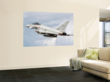 An Italian Air Force Eurofighter Typhoon Poster by  Stocktrek Images