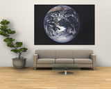 1973 Earth From Space Prints by  National Geographic Maps