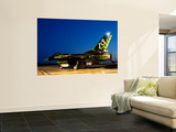 An Italian Air Force F-16Adf in a Custom Paint Scheme Print by  Stocktrek Images