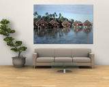 Lagoon Resort, Island, Water, Beach, Bora Bora, French Polynesia Posters