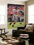 Giants Chiefs Football: Kansas City, MO - Eli Manning Prints by Jeff Roberson