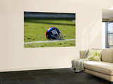 Giants Chiefs Football: Kansas City, MO - New York Giants Helmet Print by Jeff Roberson