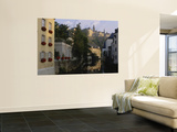 Buildings along a River, Alzette River, Grund District, Luxembourg City, Luxembourg Prints