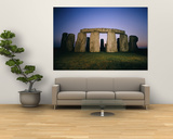 Stonehenge was Built in Four Stages Beginning Sometime Around 3,100 B.C. Poster by Richard Nowitz