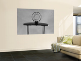 Black and White, Basketball Hoop Poster