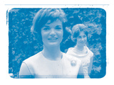 Jackie Kennedy I In Colour Photographic Print